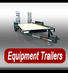 Heavy Duty Equipment trailers, Dump trailers, Skid Loader Trailers